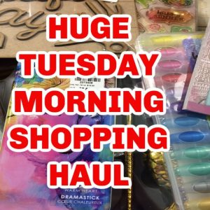 COME SEE THE TUESDAY MORNING HUGE SHOPPING HAUL