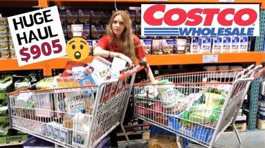 HUGE COSTCO HAUL. What's NEW? Christmas SHOP WITH ME Haul and Prices!