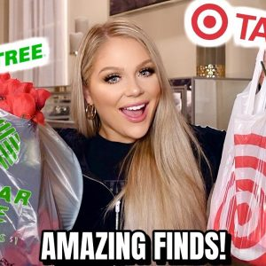 HUGE TARGET & DOLLAR TREE HAUL 2020 | SHOP WITH ME AT DOLLAR TREE & TARGET *INCREDIBLE DEALS*