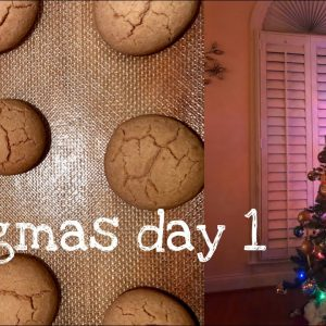 Vlogmas Day 1: Decorating for Christmas, Skincare Routines & Shopping Hauls