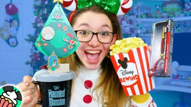 Disney Store, ShopDisney, and Shopping Haul!! Keys Rewind Popcorn Figures, Park Merch, & MORE!