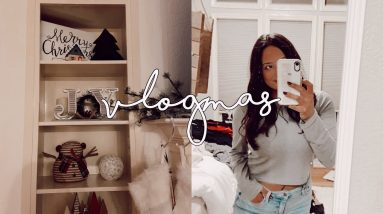 shopping + haul! | vlogmas day 8