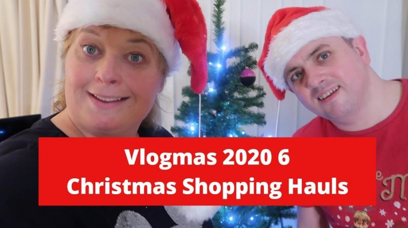 Vlogmas 2020 6 - Christmas Shopping Hauls