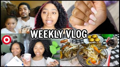 WEEKLY VLOG | Thanksgiving, Target Shopping, Hauls, Getting Nails Done & More!