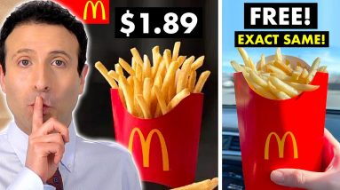 10 NEW Fast Food SECRETS That Will Save You Money!